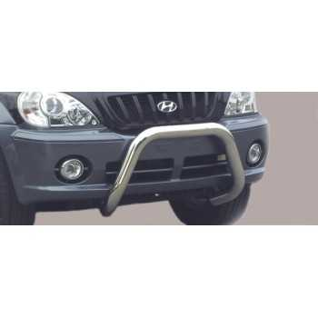 SUPER BAR INOX 76MM HYUNDAI TERRACAN 01-04
