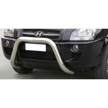 SUPER BAR INOX 76MM HYUNDAI TUCSON 04- HOMOLOGUE CE
