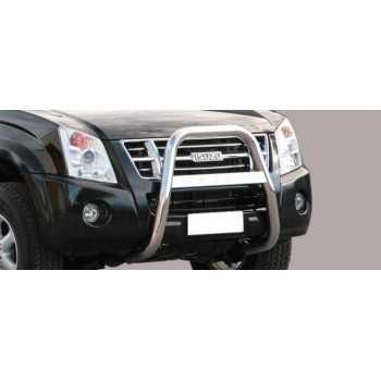 Big bar 63 mm inox Isuzu D-Max 2007-2012