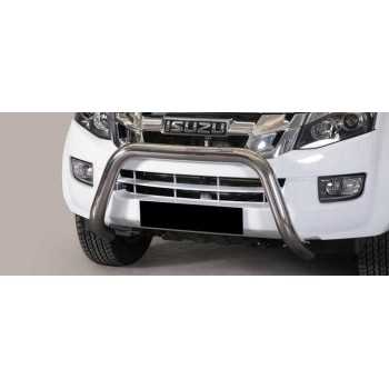 SUPER BAR INOX 76MM ISUZU D-MAX 2012- DOUBLE CAB HOMOLOGUE CE
