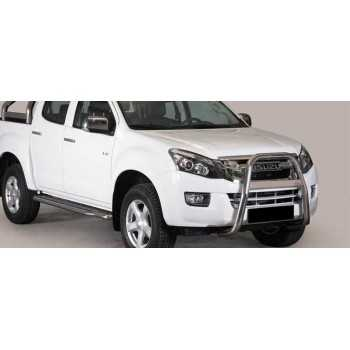 BIG BAR 63 MM INOX ISUZU D-MAX 2012- DOUBLE CAB
