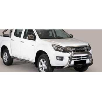 SUPER BAR INOX 76MM ISUZU D-MAX 2012+ DOUBLE CAB
