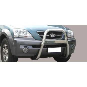 BIG BAR 63 MM INOX KIA SORENTO 02-06
