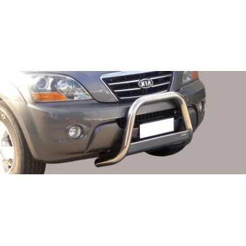 Medium bar inox 63 mm KIA SORENTO 06-08 HOMOLOGUE CE