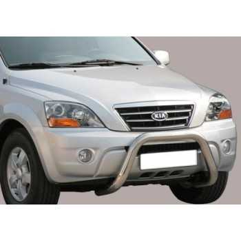 SUPER BAR INOX 76MM KIA SORENTO 06-08 HOMOLOGUE CE