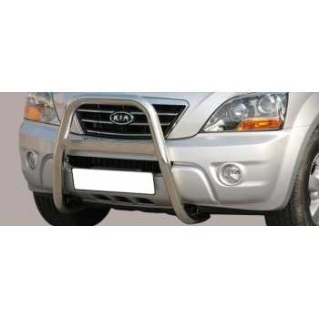 BIG BAR 63 MM INOX KIA SORENTO 06-08