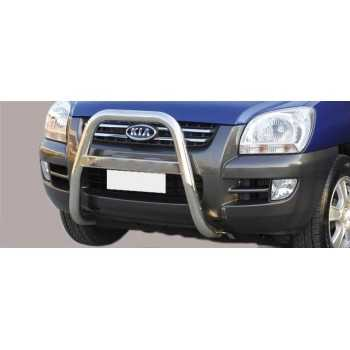 BIG BAR 63 MM INOX KIA SPORTAGE 04-08