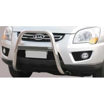 BIG BAR 63 MM INOX KIA SPORTAGE 08-10