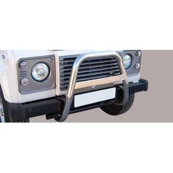 BIG BAR 63 MM INOX LAND ROVER DEFENDER 90