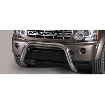 SUPER BAR INOX 76MM LAND ROVER DISCOVERY 4 HOMOLOGUE CE