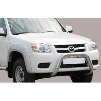SUPER BAR INOX 76MM MAZDA BT50 09-12 DOUBLE CAB