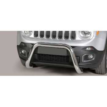 SUPER BAR INOX 76MM JEEP RENEGADE 2014- HOMOLOGUE CE