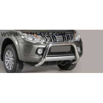 SUPER BAR INOX 76MM MITSUBISHI L200 2015+