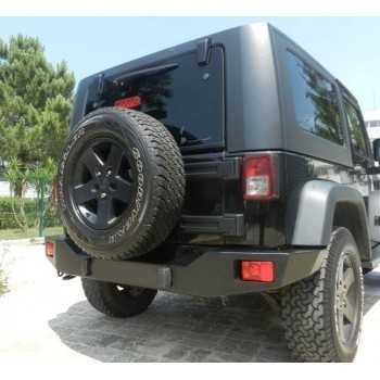 Pare choc arriere AFN Jeep Wrangler JK 2007-