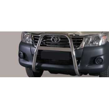 Big bar 63 mm inox Toyota Hilux Vigo 2011-