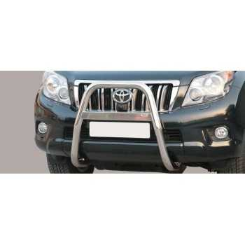 Big bar 63 mm inox TOYOTA KDJ 150/155 2009-2017