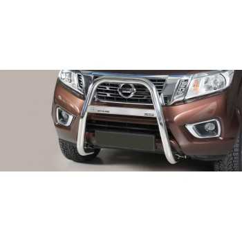 Big bar 63 mm inox Nissan Navara NP300 2016-