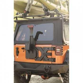 Porte roue SPARTACUS Jeep Wrangler JK 2007-2018
