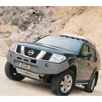Pare choc ASFIR avec support de treuil Nissan Navara D40-Pathfinder R51  2.5 Dci diesel 174 ch 2005-2010