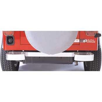 Demi pare choc arriere inox Jeep CJ ET Wrangler YJ 1976-1995