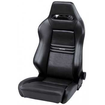 Siege recaro Cross Speed M simili cuir noir