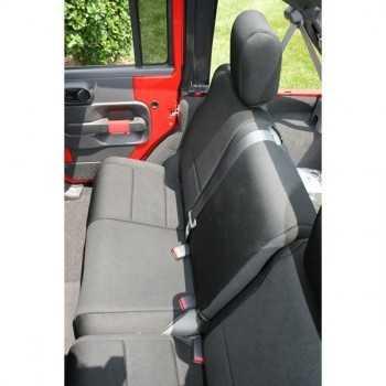 Housse de banquette arrière noir Jeep Wrangler JK 2007-2018 4 portes