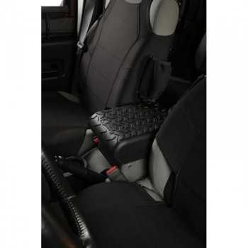 Capot de console noire centrale Jeep Wrangler JK 2007-2010