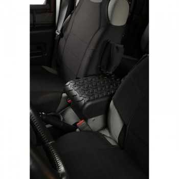 Capot de console centrale noire Jeep Wrangler JK 2007-2010