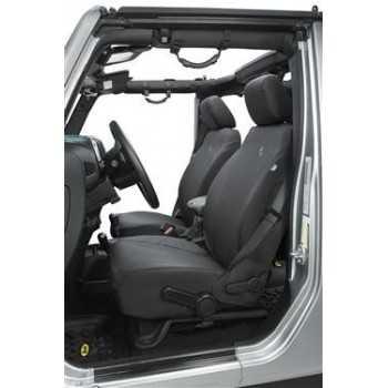 Housse de siege avant BESTOP noir Jeep Wrangler JK 2013-2018
