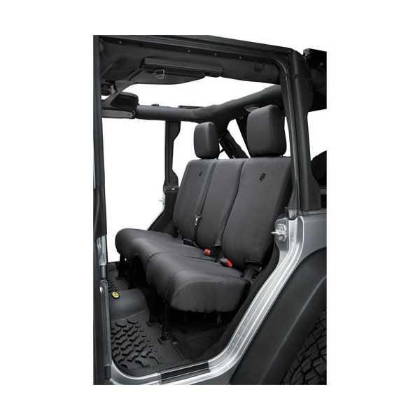 Housse de banquette arriere BESTOP noir Jeep Wrangler JK 2013-2018