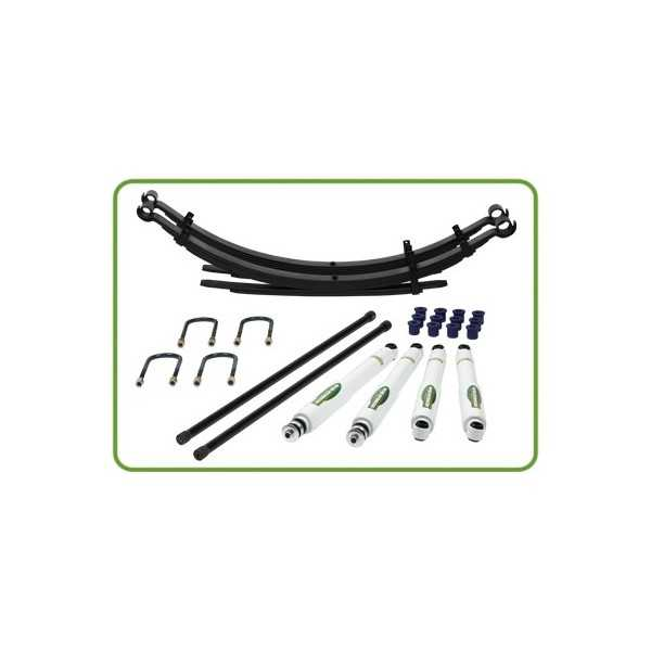KIT SUSPENSION IRONMAN ELITE ISUZU TROOPER AVANT 1986 RENFORCEES