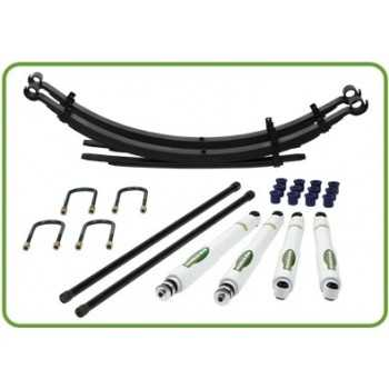 KIT SUSPENSION IRONMAN MITSUBISHI L200 DE 91 à 2005 ELITE RENFORCEES