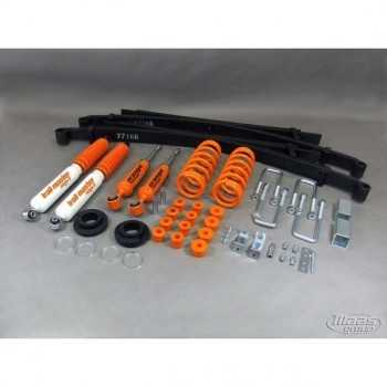 Kit suspension Trail Master + 40/60 mm charge lourde Nissan Navara D40 2005-2015