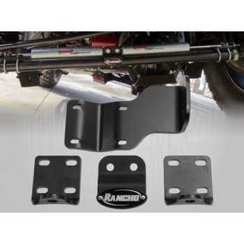 Support double amortisseur de direction RANCHO Jeep Wrangler JK 2007-2018