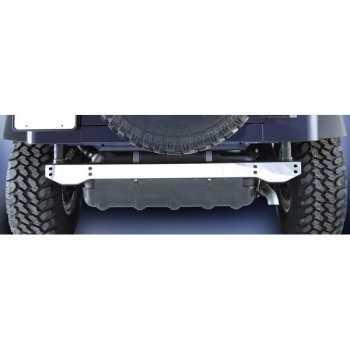 Couvre chassis arrière inox Jeep Wrangler de 1997 à 2006