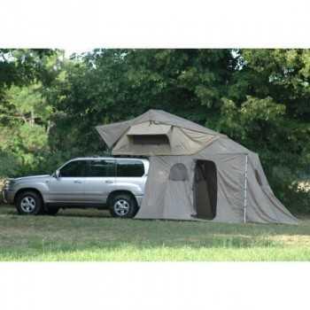 Tente de toit ORYX 180 (echelle alu télescopique et auvent inclus)