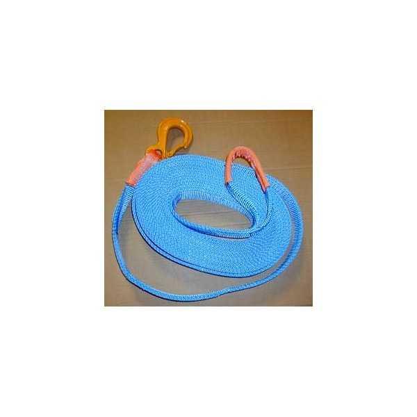 Sangle boucle-crochet 10 mètres 6 tonnes