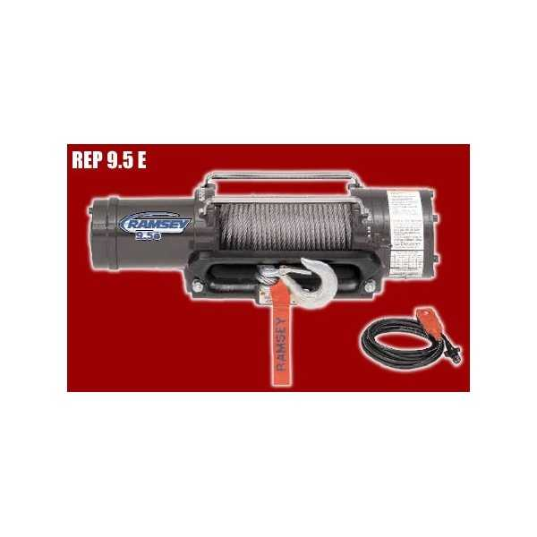 TREUIL 12 volts REP 9.5 e GR Force 4300 kg -3,8 ch