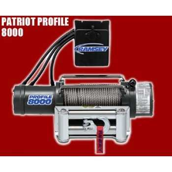 TREUIL 8000 Modèle Patriot Profil 3 500 kg 12 V : 5,5 cv