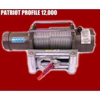 TREUIL 12000 Modèle Patriot Profil 5 400 kg - 5,5 cv