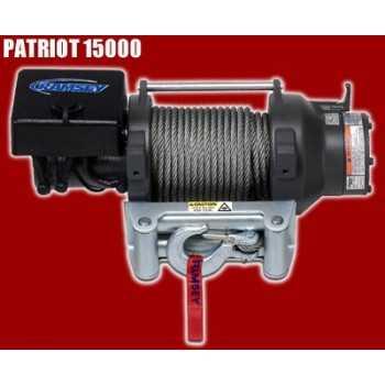 TREUIL PATRIOT 15000 12 Volts 6 800 Kg - 5,5 ch