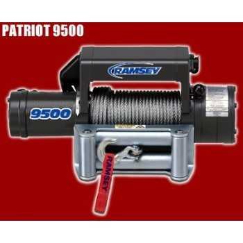 TREUIL PATRIOT 9500 12 Volts 4300 Kg - 5,5 ch