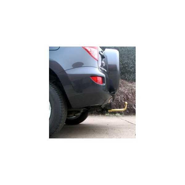 Attelage lourd Toyota Rav 4 III 02/2006-11/2013 sans roue de secours sur la porte arrière