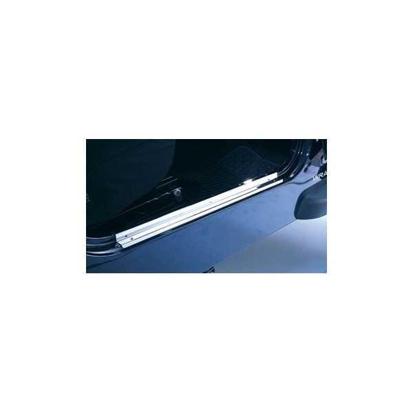 BARRE DE SEUIL INOX WRANGLER TJ 97-06