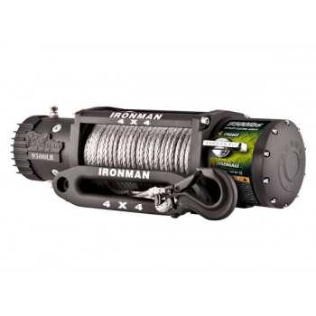 Treuil IRONMAN 4T310 12 volts corde avec plasma