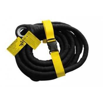 Sangle de remorquage BLACK SNAKE boucle-boucle 15 Mètres 20 Tonnes kevlar
