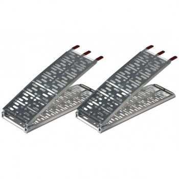 Paire de rampes pour quad aluminium 218 X 28 cm