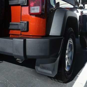 Bavettes arriere Jeep Wrangler JK 2007-2017
