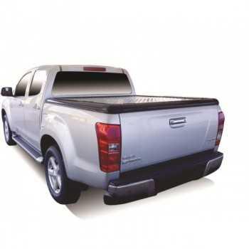 Tonneau cover aluminium Isuzu D-Max Crew Cab 2012-