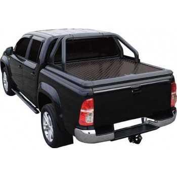Tonneau cover alu noir Toyota Hilux 2005-2015 4 portes